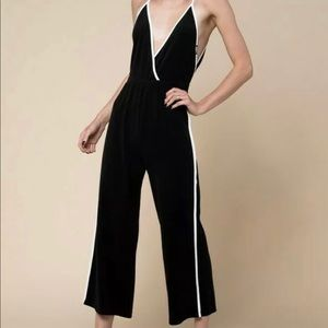 Juicy Couture Black Terry jumpsuit XS